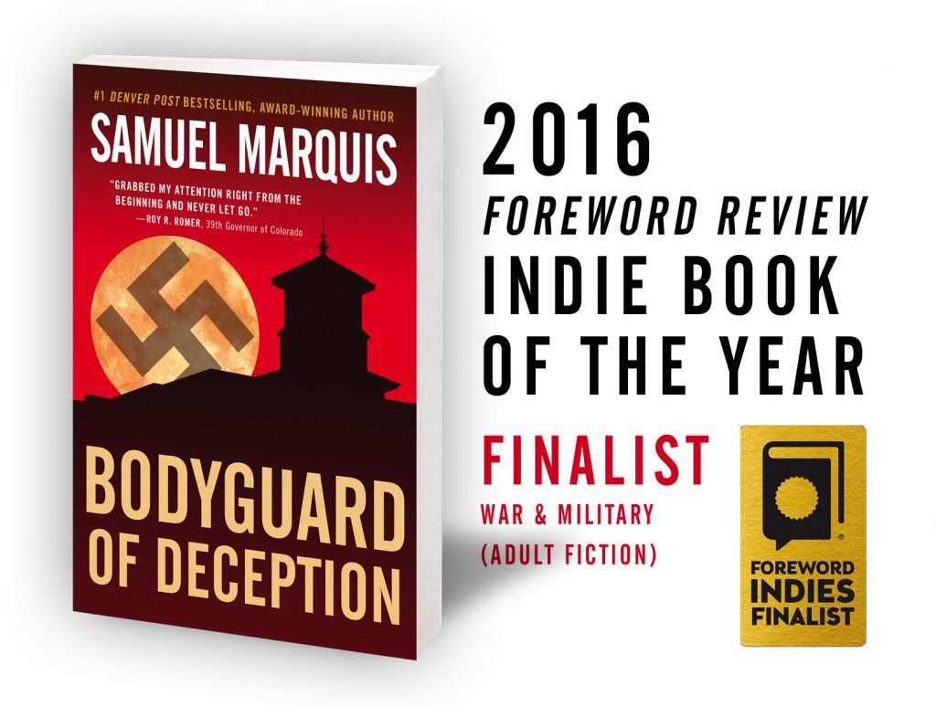 Bodyguard of Deception__2016 Foreword_winner